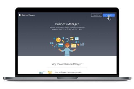 Vytvoření Business manageru - vytvořit účet